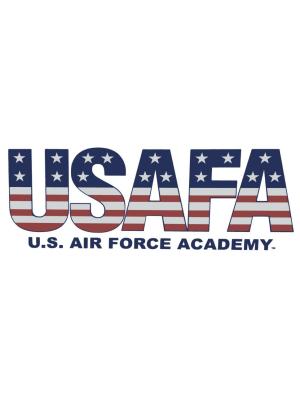 USAFA Flag Decal